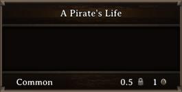 DOS Items Books A Pirate's Life