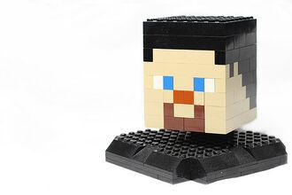 Minecraft Wobbly Head