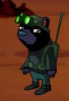 Dizzywood secret agent bear