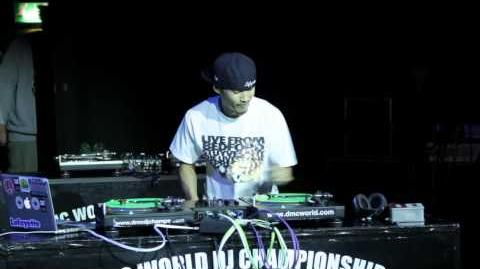 DJ IZOH (Japan) - DMC World Champion 2012 EXCLUSIVE!