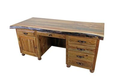 Western-wood-executive-writing-desk