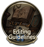 Editing Guidelines