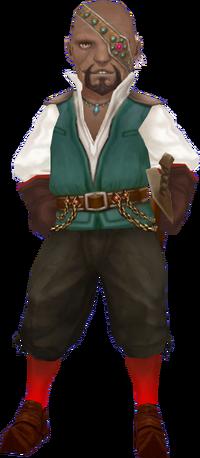 Adventurer's Guild Master Alonzo