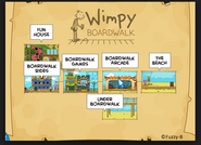 Wimpy Boardwalk Island Map