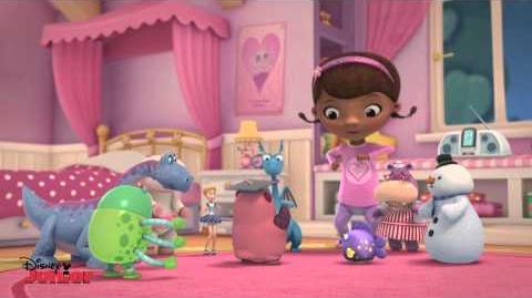 """Professor Pancake"" Song Doc McStuffins Disney Junior UK"