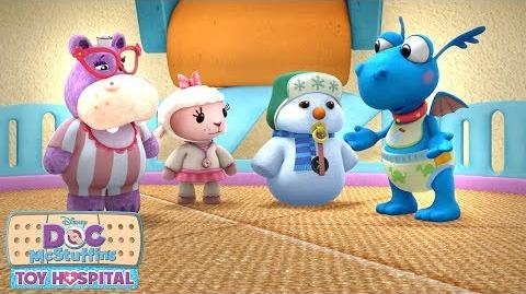 Baby Toy Dilemma! Doc McStuffins Disney Junior