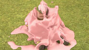 Marshmallow goo fell on army al
