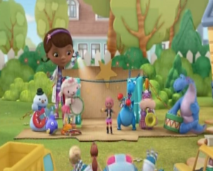 Rockstar Ruby and the Toys