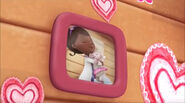 Picture frame of doc and lambie