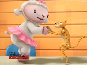 Lambie and rita dancing
