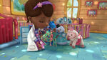 Doc, stuffy, lambie, chilly, dress up daisy and dress up declan