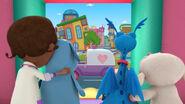 Doc, lambie, stuffy and boppy