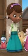 Doc in her 1800's Dress