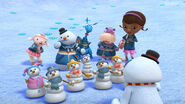 Time for your checkup chilly's snow globe shakeup