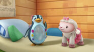 Lambie and waddly penguin