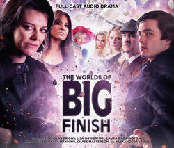 The Worlds of Big Finish cover