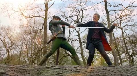 The Doctor vs Robin Hood - Robot of Sherwood - Doctor Who - BBC