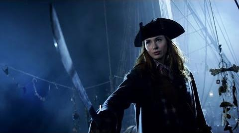 Amy Pond the Pirate - Doctor Who - The Curse of the Black Spot - Series 6 - BBC