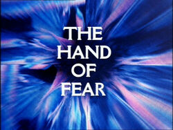 Hand of fear