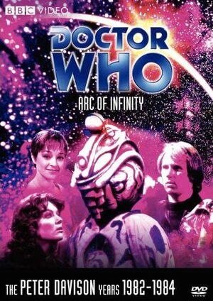 Arc of infinity us dvd