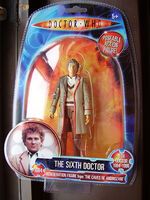 The 6th Doctor Regeneration Figure
