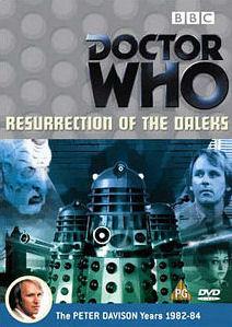 Resurrection of the daleks uk dvd