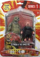 Slitheen & Space Pig