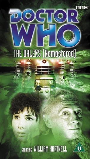 Daleks remastered uk vhs