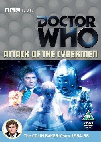Attack of the cybermen uk dvd