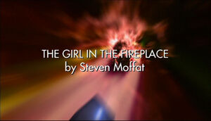 Girl in the fireplace