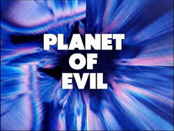 Planet of evil