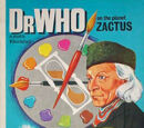 Dr Who on the Planet Zactus Painting Book