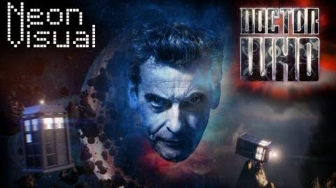 Doctor Who Intro Feat. Peter Capaldi 2014 Title Sequence - NeonVisual - Loan Me Your Eyes!-1