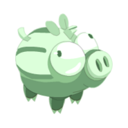 Young Wild Boar Ghost