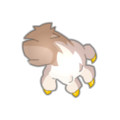 Whitish Fang Paw