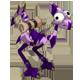 Plum and Indigo Dragoturkey