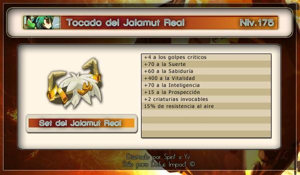 Tocado jalamur real