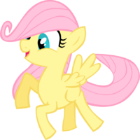 Filly fluttershy by goblinengineer-d4pv9m3