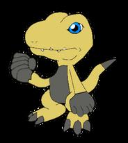 Lizardmon for Digimon