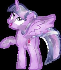 Crystal twilight sparkle by memershnick-d6chir5