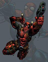 Deadpool spidey fan art by brianfajardo-d6jsm3j