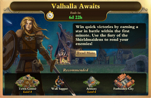 Valhalla Awaits Front Page