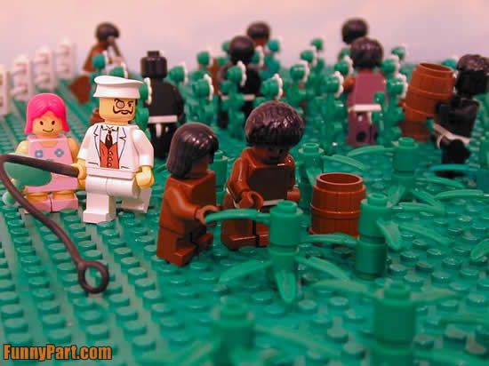 Lego plantation