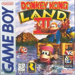 Donkey Kong Land 3 Box Art