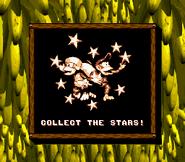 Collect the Stars (Donkey Kong Land 2)