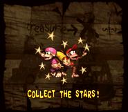 DKC2 Collect Stars