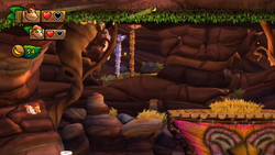 Donkey Kong Country Tropical Freeze Level 3 1 Grassland Groove