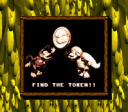 Find the Token (Donkey Kong Land 2)