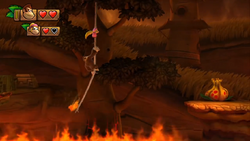 Donkey Kong Country Tropical Freeze Level 3 4 Scorch N' Torch