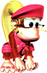 Image result for donkey kong country dixie